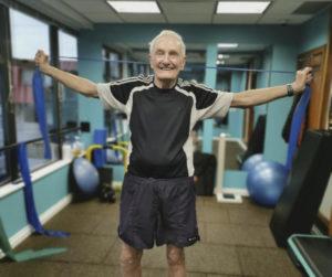 Senior fitness evaluation